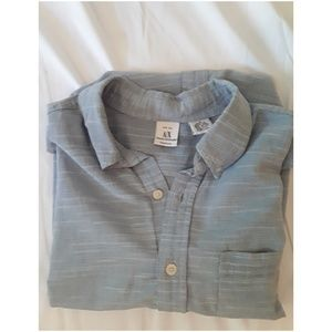 Armani x Mens short sleave button up.